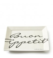 Buon Appetito Square Plate S