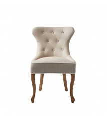 George Dining Chair, linen