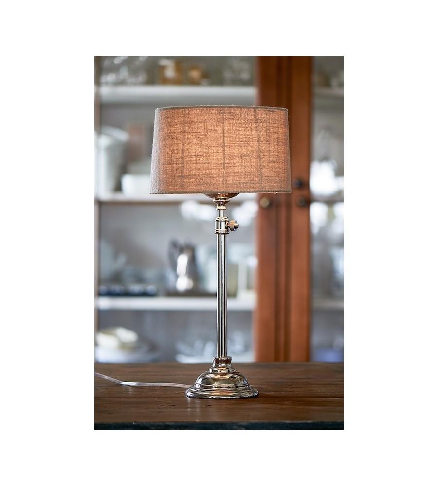 Apartment Lamp shiny silver