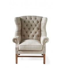 Franklin Park Wing Chair Linen