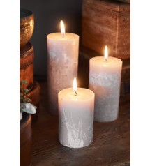 Rustic Candle desert sand 7x10