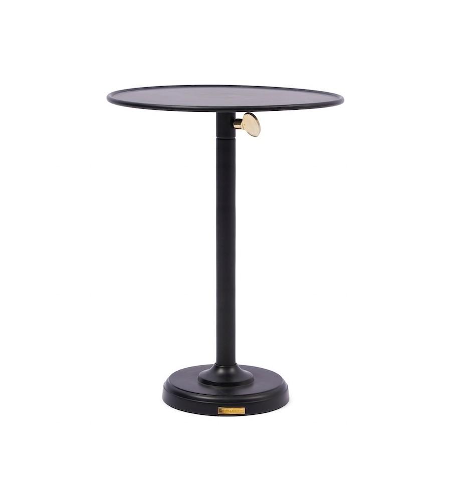Venice Adjustable Sofa Table black L