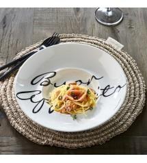 Buon Appetito Pasta Plate