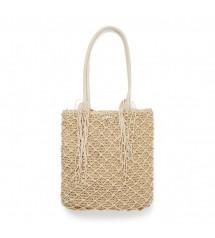 Summer Crochet Bag natural