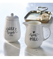 Finest Milk & Sugar Set