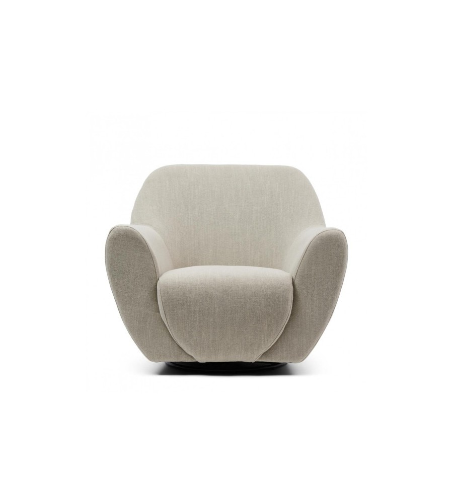 The Jill Swivel Chair Linen (Drehbar)