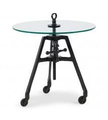 Bricklane Table Dia 56, Black