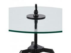 Bricklane Coffee Table Dia 70,Black