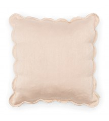 Fleur Scallop Pillow Cover
