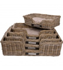 Basket Rattan (S) Rectangular