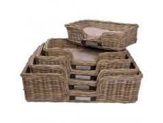 Basket Rattan (M) Rectangular