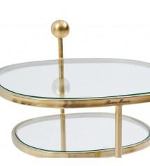 Liberty Hexagon Side Table, Gold