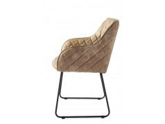Frisco Drive Dining Armchair Pellini Camel (Outlet)