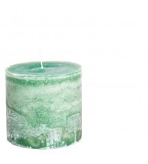 Bert Candle Ø10X10 Emeraldgreen