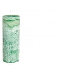 Bernard Candle Ø7X20 Emeraldgreen