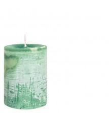 Daniel Candle Ø7X10 Emeraldgreen