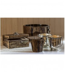 Treviso Wooden Candle 21.5