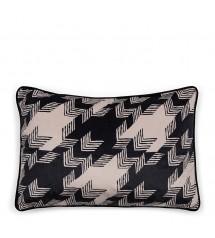 Pied-de-Poule Pillow Cover...